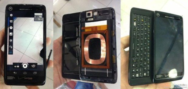 Leaked images of the Motorola Droid 5