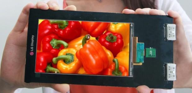 LG 4K smartphone