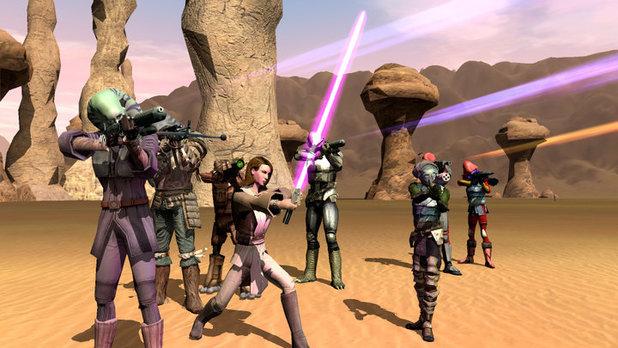 'Star Wars: Galaxies' screenshot