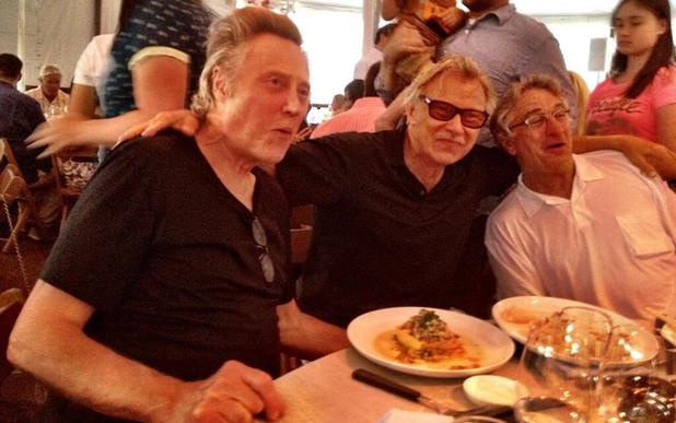 Robert De Niro with Christopher Walken and Harvey Keitel