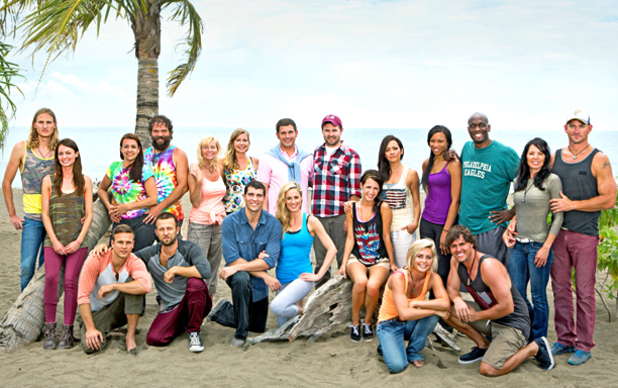 The cast of 'Survivor: Blood vs. Water'
