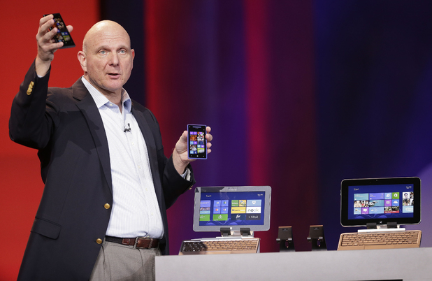 Steve Ballmer at CES 2013 in Las Vegas