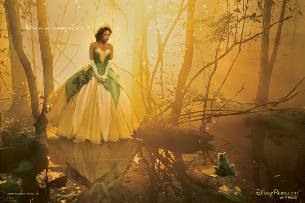 Jennifer Hudson as Princess Tiana from 'Princess and the