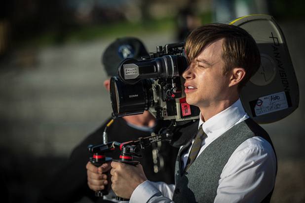 Dane DeHaan The Amazing Spider-Man 2 camera