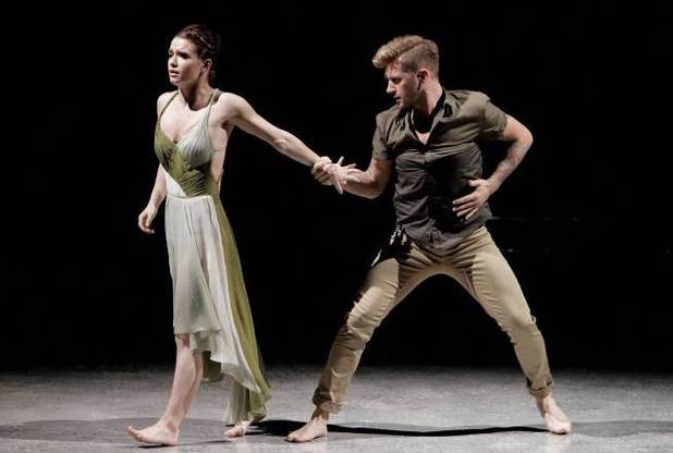 "Amy Yakima and choreographer Travis Wall perform a Contemporary routine to ""Wicked Game"" choreographed by Travis Wall"