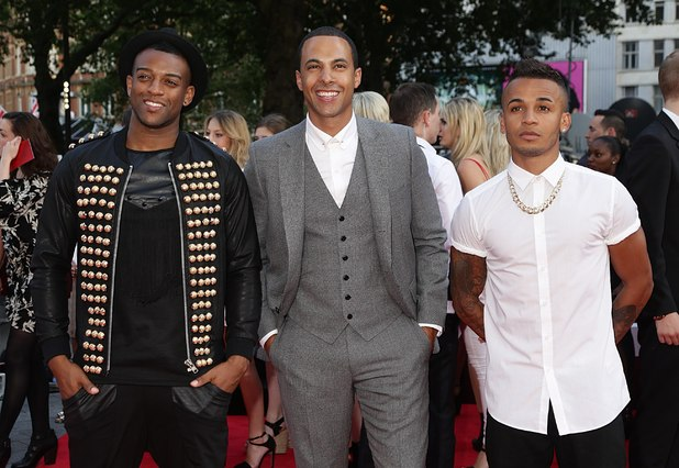 JLS at the This Is Us premiere