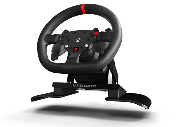 Mad Catz Force Feed Racing Wheel for Xbox One
