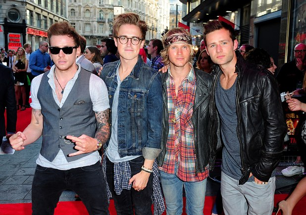 Mcfly at the This Is Us premiere