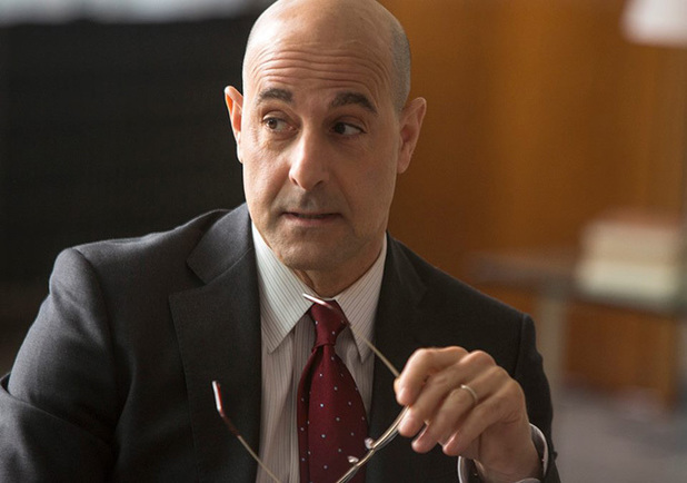 Stanley Tucci as James Boswell in the 'The Fifth Estate'