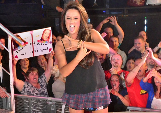 Now that's what I call a Celebrity Big Brother Bust-Up