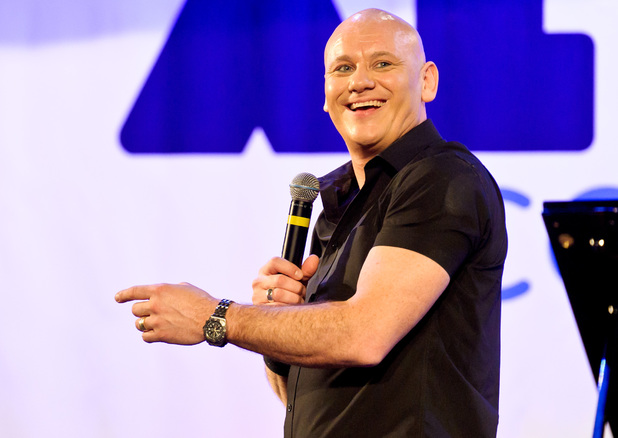 Terry Alderton at the Europahaus