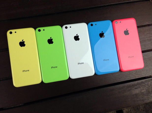 iPhone 5C backplates