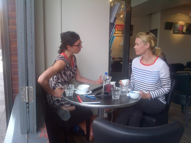 Rebecca Johnson, Laurie Holden for Honeytrap in Brixton