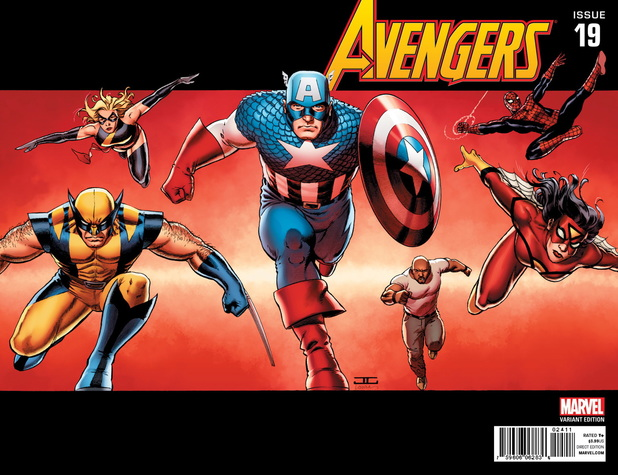 Avengers #19 variant covers