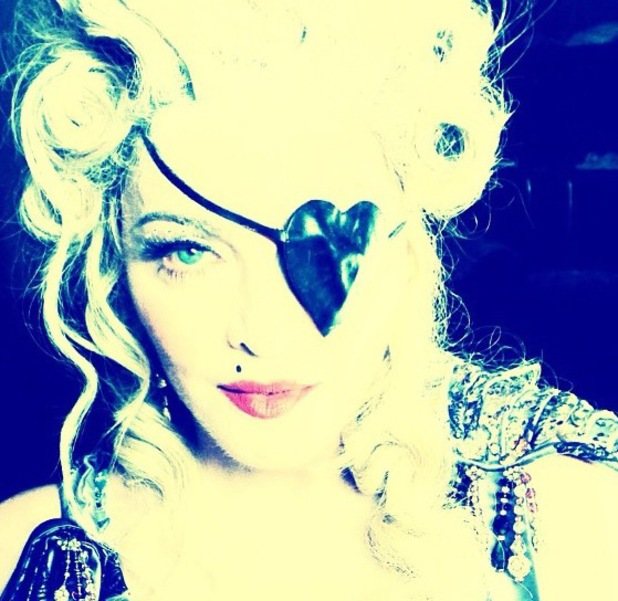 Madonna, birthday fancy dress