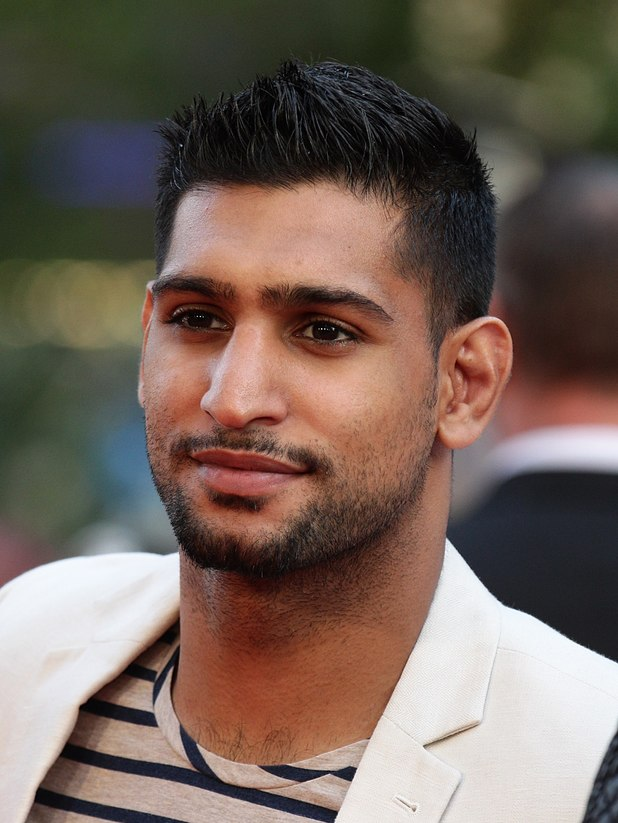 Amir Khan at the This Is Us premiere