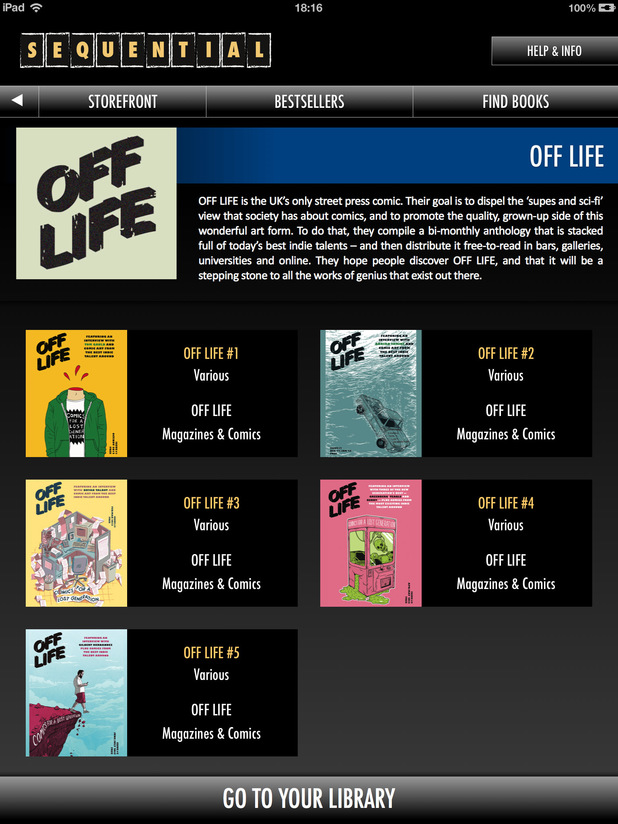Sequential round-up: 'Off Life'