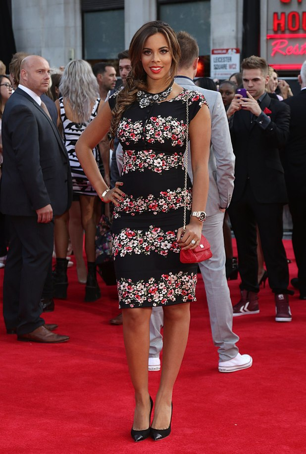 Rochelle Humes at the This Is Us premiere