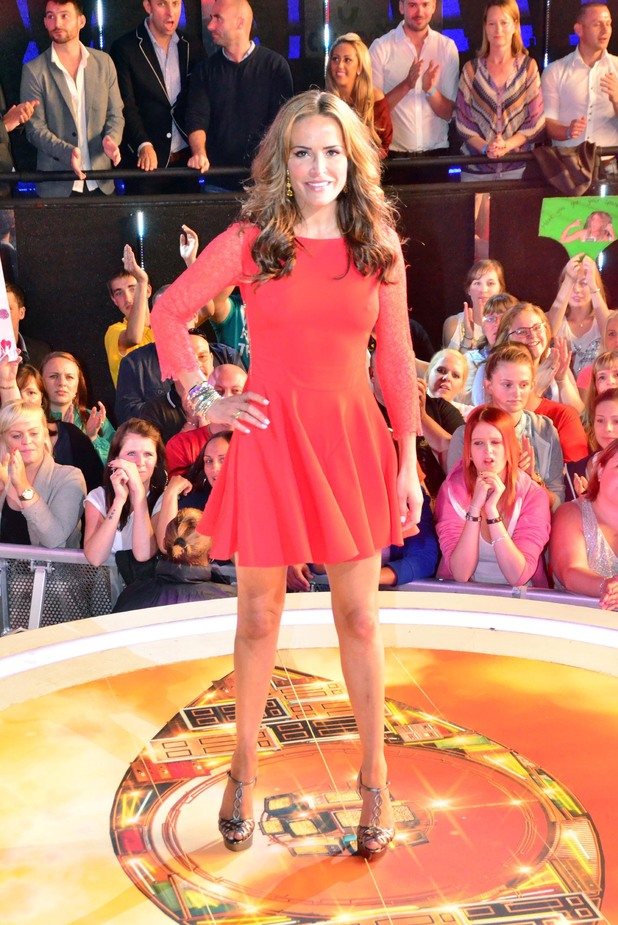 Sophie Anderton - Big Brother eviction