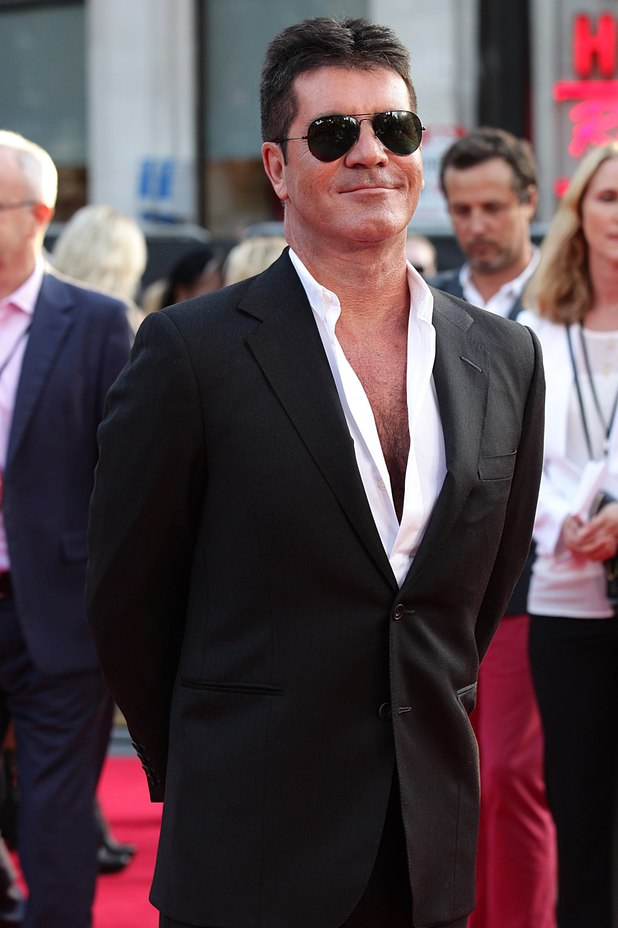 Simon Cowell at the This Is Us premiere