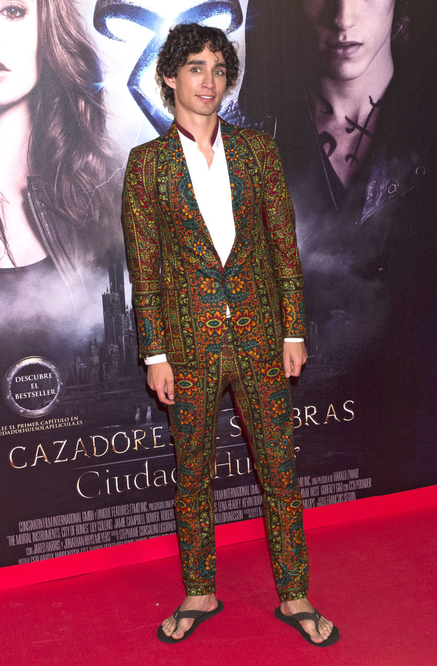 Robert Sheehan, 'The Mortal Instruments: City of Bones' Madrid Premiere