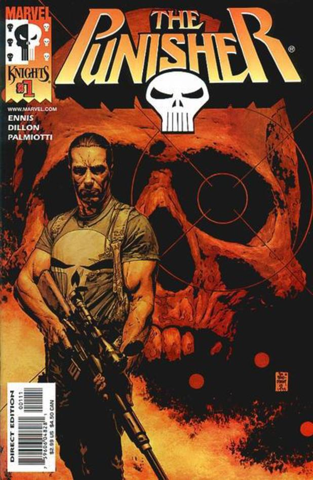 'The Punisher' cover artwork