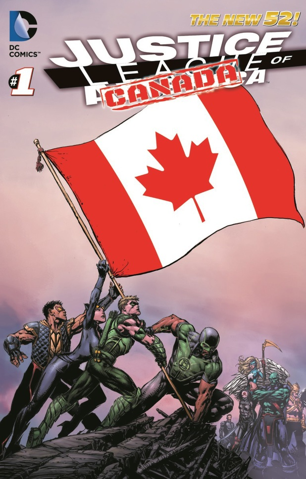 Justice League of Canada artwork