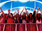 Which X Factor star is playing V Festival?
