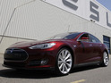 Electric saloon grabs five-star safety rating in all NHTSA tests.
