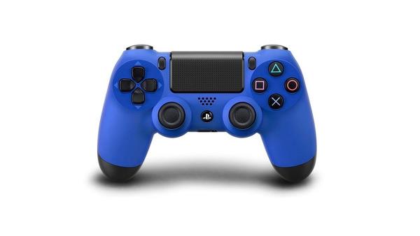 Blue PlayStation 4 Dualshock controller