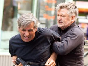 Alec Baldwin and Hilaria Thomas out and about in New York, America - 27 Aug 2013Alec Baldwin with Photographer Paul Adao 27 Aug 2013