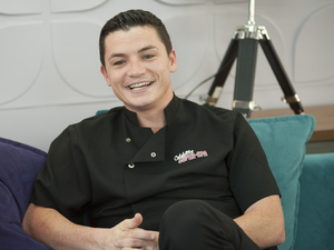 Jody Latham in 'Celebrity Super Spa'