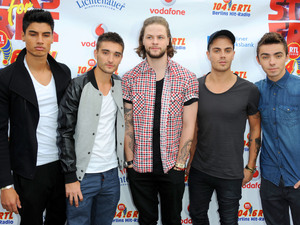 The Wanted appear at the Stars For Free 2013 by Berlin radio station event.