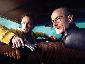Breaking Bad Season 2: Jesse Pinkman (Aaron Paul) and Walter White (Bryan Cranston)