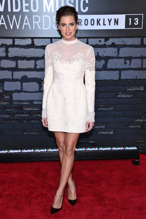 Allison Williams, 2013 MTV Video Music Awards at the Barclays Center on August 25, 2013