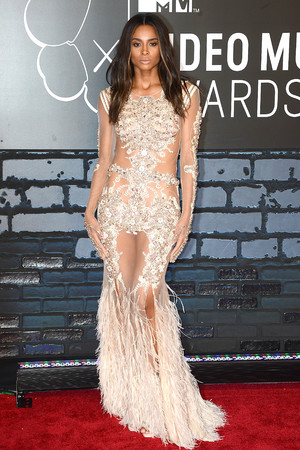 Ciara, 2013 MTV Video Music Awards - Arrivals at the Barclays Center
