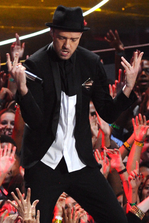 Justin Timberlake performs at the VMAs