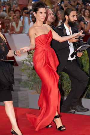 'Gravity' film premiere, 70th Venice International Film Festival, Italy - 28 Aug 2013 Sandra Bullock