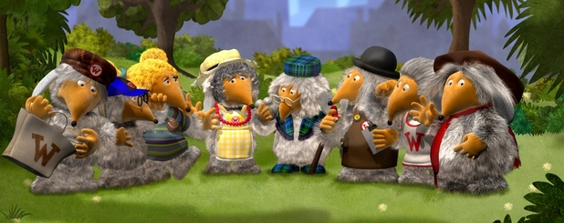 The Wombles on Channel 5