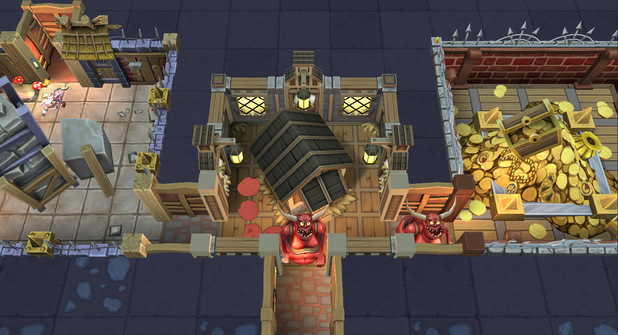 'Dungeon Keeper' screenshot