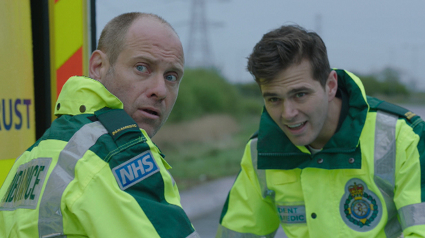 Iain and Jeff in Casualty