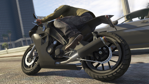 Grand Theft Auto 5 CarbonRS sports bike
