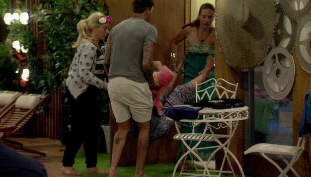 Danielle Marr, Mario Falcone, Charlotte Crosby, Celebrity Big Brother 2013