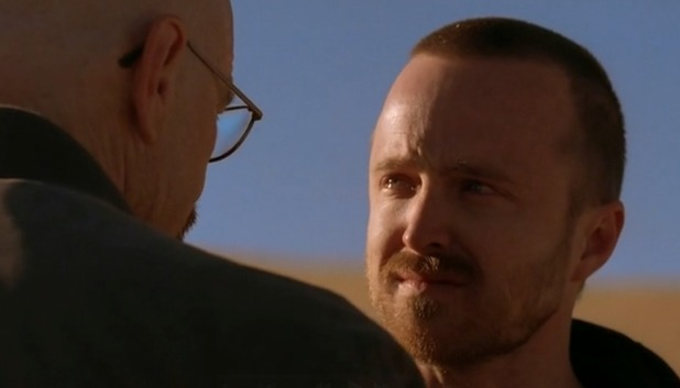 Walt and Jesse in 'Breaking Bad' season 5 episode 11 'Confessions'