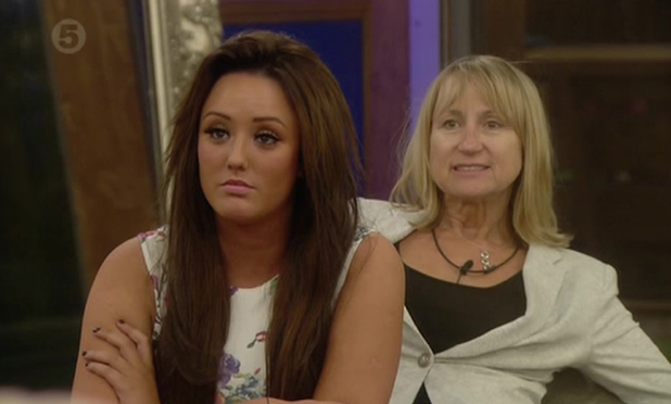 'Celebrity Big Brother', Elstree Studios, Hertfordshire, Britain - 27 Aug 2013 Charlotte Crosby and Carol McGiffin