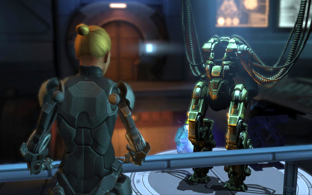 'XCOM: Enemy Within' screen shot.
