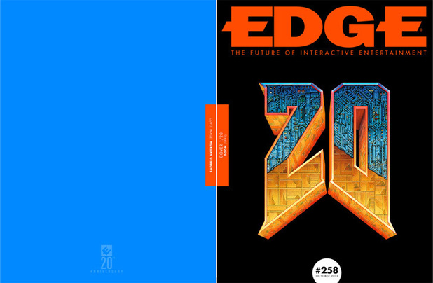 Edge 20th anniversary covers