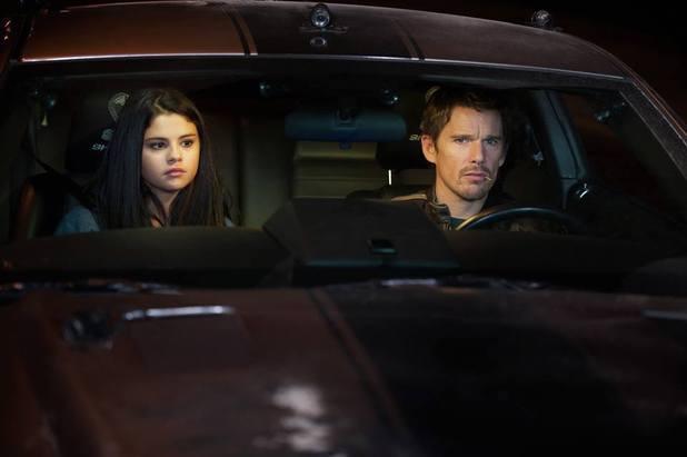 Selena Gomez, Ethan Hawke in Getaway