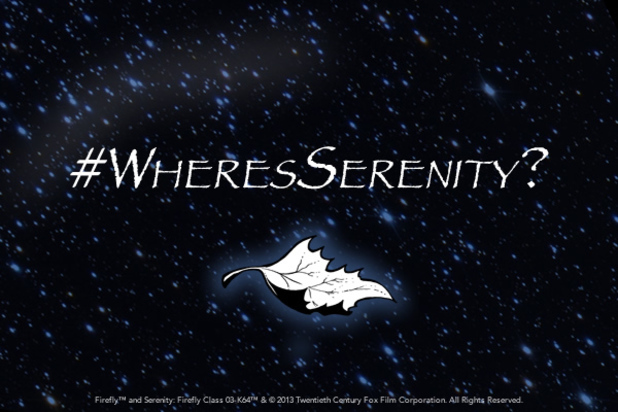 #WheresSerenity 'Firefly' teaser