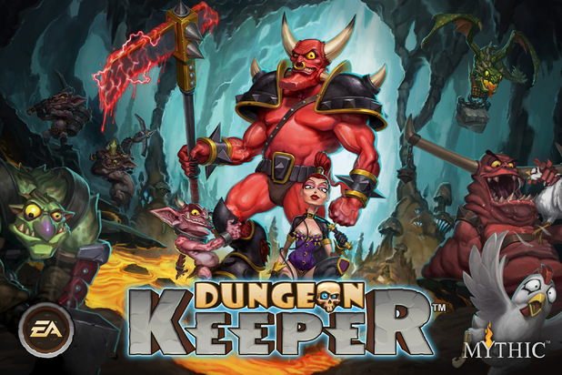 'Dungeon Keeper' artwork